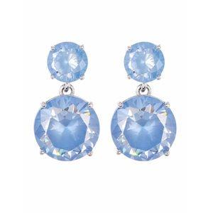 Kate Spade double drop CZ earrings